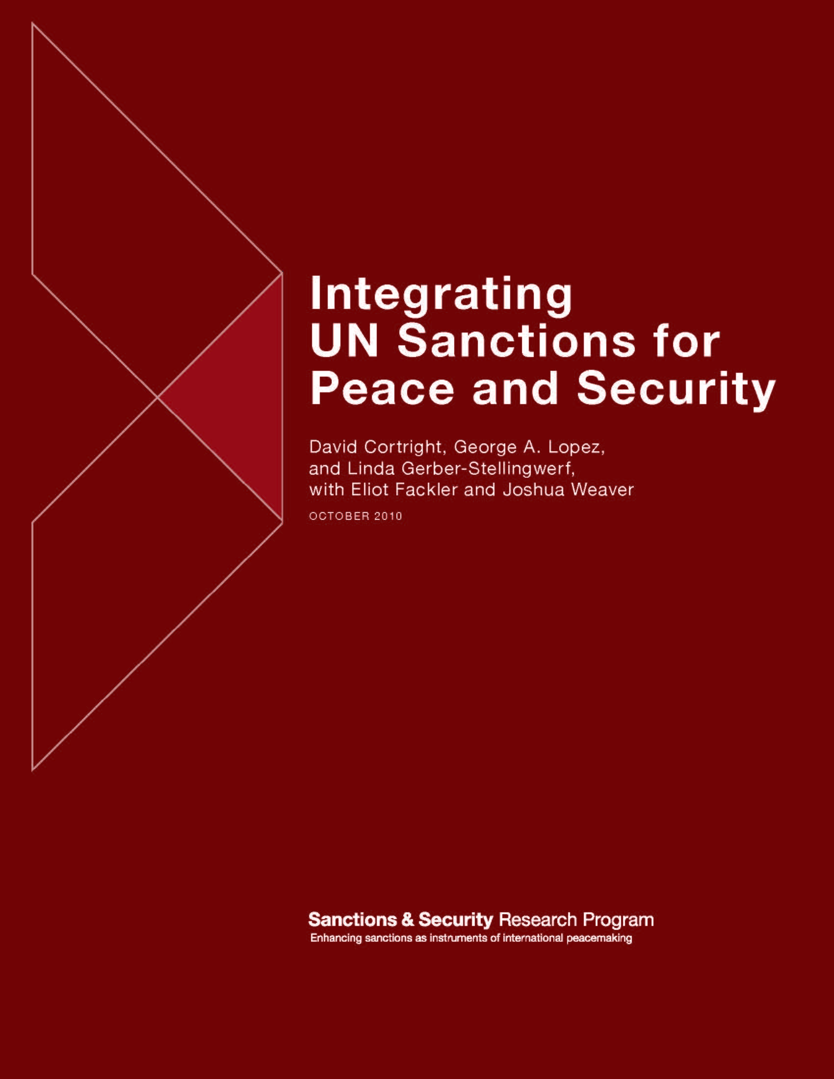 Integrating UN Sanctions for Peace and Security