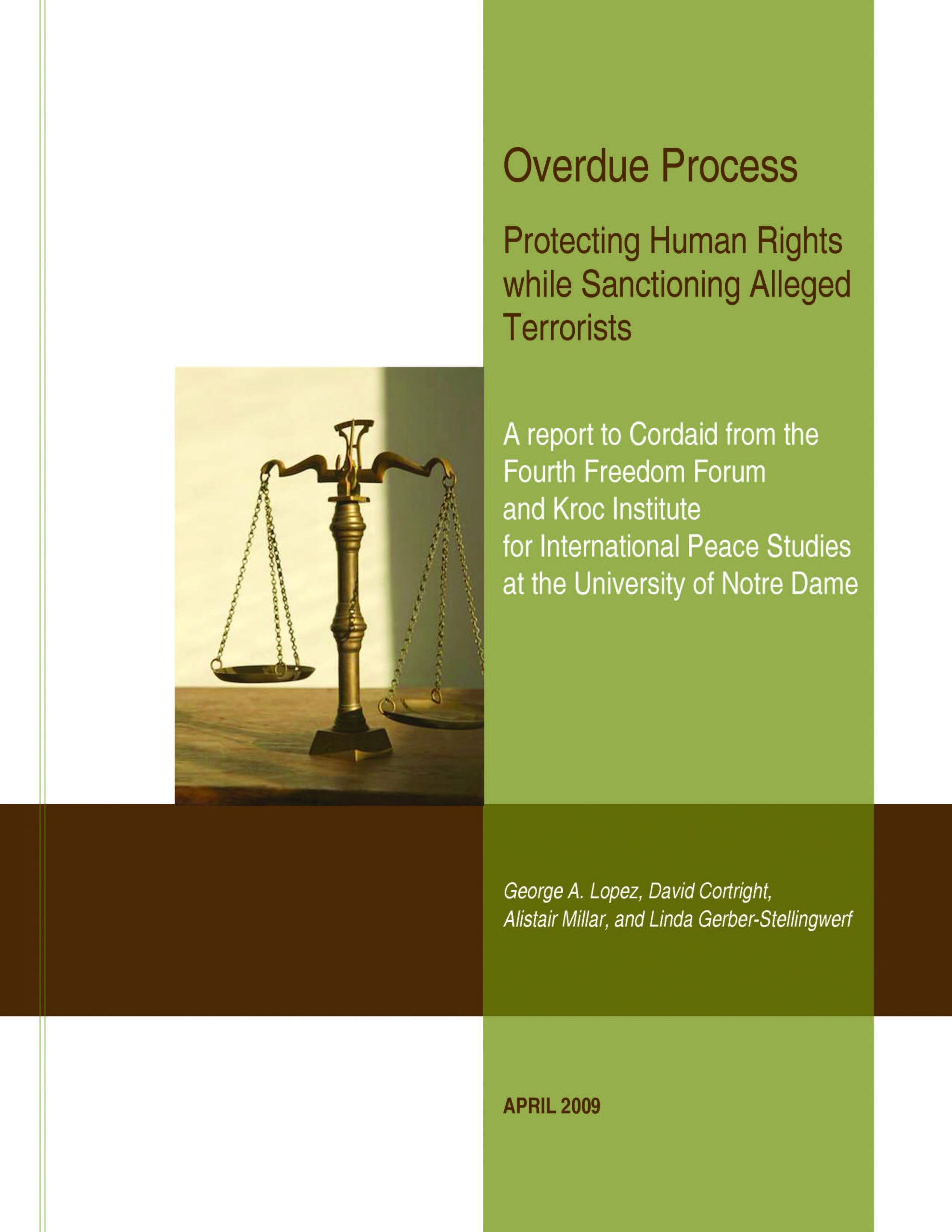 Overdue Process: Protecting Human Rights while Sanctioning Alleged Terrorists
